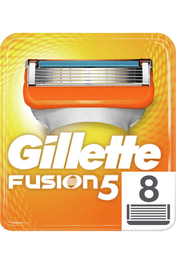 Gillette Fusion Replacement Razor Blades 8 pieces