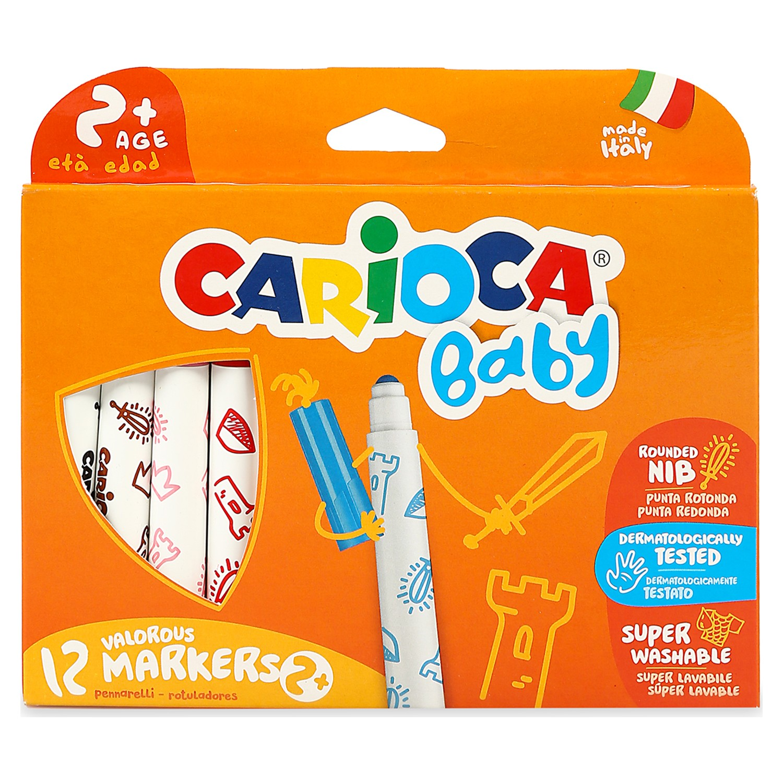 Carioca Jumbo Bebek Super Yikanabilir Keceli Boya Kalemi Fiyati