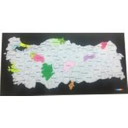 Mapofx Gez Boya Harita Boyanabilir Türkiye Haritası Fiyatı