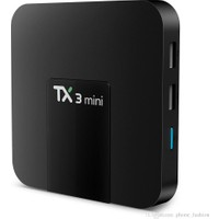 Case 4U TX3 Mini 4K TV Box - Android 7.1- 2 GB Ram / 16 GB Hafıza