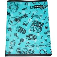 Mynote Melody Pp Kapak Müzik Defteri A4 40 Yaprak