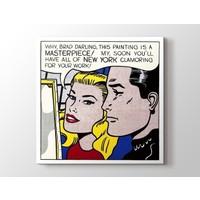 Tablo Kanvas Roy Lichtenstein - Masterpiece Tablo