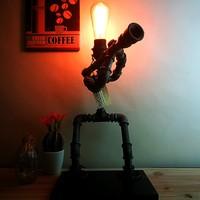 Dekorle Bazukalı Model Masa Lambası - DL01126