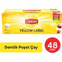 Lipton Demlik Poşet Çay Yellow Label 48'Li