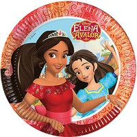 Prenses Elena Kağıt Tabak 23cm