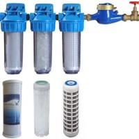 Şebeke Girişi 3 Aşama Su Arıtma Cİhazı Kireç Klor Küf Pas Tortu Tutcu Sistem