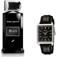 Daniel Hechter Homme Collection Couture Black Edp 100 ml Erkek Parfümü + Casio Mtp V007l 1eudf Kol Saati