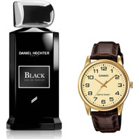 Daniel Hechter Homme Collection Couture Black Edp 100 ml Erkek Parfümü + Casio Mtp V001gl 9budf Kol Saati