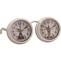 Time Gold İkiz Masa Saati-17*20*33cm AK5172