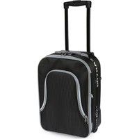 Boyraz Küçük Boy Çekçekli Valiz, Tekerlekli Valiz Seyehat Çantası (Siyah)