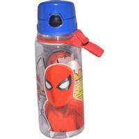 Hakan Çanta Spider-Man 500 ml Kırılmaz Gövde Şeffaf Matara 78748