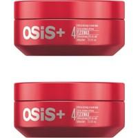 2X Osis Flexwax Ultra Şekillendirici Güçlü Krem Flex Wax 85 ml