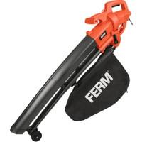 FERM Power LBM1009 Yaprak Üfleme ve Toplama Makinesi - 3000W – 270 km/h
