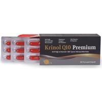 Krinol Q10 Premium - Krill Yağı ve Koenzim Q10 - 30 Kapsül - 1 Kutu