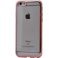 Case 4U Apple İphone 6 Plus Lazer Kaplama Silikon Kılıf Rose Gold