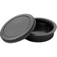 Ayex Canon Eos Body Kapağı Ve Lens Arka Kapağı