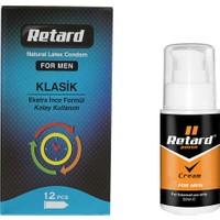 Retard Prezervatif Erkeklere Özel Paket