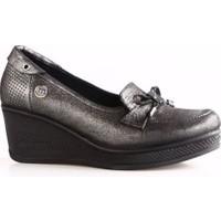 Mammamia 3985F Kadın Günlük Ayakkabı Siyah Jale
