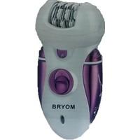 Bryom Br-3033 Şarjlı Profesyonel Epilatör Ve Ayak Törpü Başlık 3 İn1