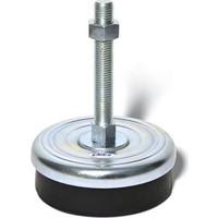 Makine Denge Ayağı Sabit Çinko Ağır Tip, Çap:200, M24x150mm,MDASçk202415