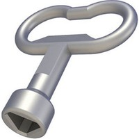 Pano Kilidi Anahtarı Üçgen, YPKA39, 3,9 mm