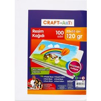 Craft and Arts Resim Kağıdı 100'lü 25x35