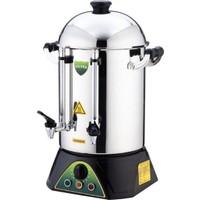 Silver Sanayi Tipi Çay Makinesi 120 Bardak Metal Çaymatik Semaver