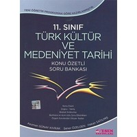 Esen Yayınları 11. Sınıf Türk Kültür Ve Medeniyet TarihiKonu Özetli Soru Bankası