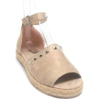 Shop And Shoes 172-1406 Kadın Sandalet Bej Süet