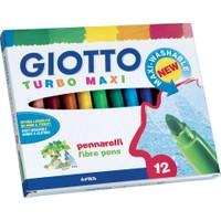 Giotto Keçeli Kalem Turbo Maxı 12 Renk 454000