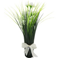 Çiçek Dekoral Dekoratif Sazlı Yapay Çiçek