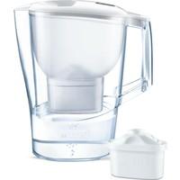 BRITA Aluna XL Filtreli Su Arıtmalı Sürahi - Yedek Filtreli - Beyaz