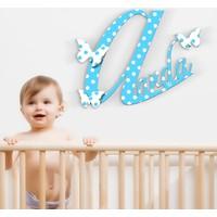 Leydi Collection Kişiye Özel İsimli Erkek Çocuk Bebek Odası Ahşap Duvar Yazısı - 1