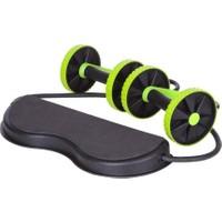 Revoflex Xtreme Tekerlekli Egzersiz Spor Aleti Lastikli Karın Kası Göbek Eritme Tekerleği Zayıflama