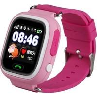 Alcatech Q90 Dokunmatik GPS-Telefon Akıllı Çocuk Saati - Pembe