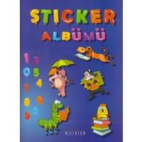 Sticker Albümü-Spiralli