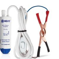 MİDAPO 12 Volt Mini Küçük Dalgıç Pompası (Mazot,Su yada Süt Pompası)