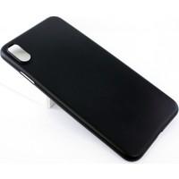 Case 4U Apple iPhone XS Max Kılıf 0.2mm Silikon Arka Kapak - TPU - Siyah
