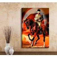 Pia Hediyelik Kanvas Tablo Atatürk Model