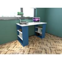 Rafline Clove Çalışma Masası Mavi