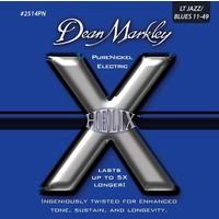 Dean Markley Helix Pure Nickel - Lt Jazz Takım Tel Elektro Gitar Teli 011-49