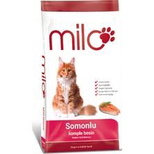 Milo Somonlu Yetişkin Kedi Maması 10 Kg