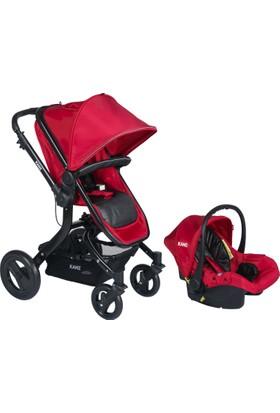 Kanz Proxima Travel Bebek Arabası Kırmızı