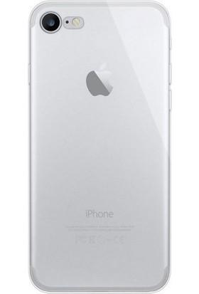 Case 4U Apple iPhone 7/8 Kılıf Ultra İnce Silikon Şeffaf
