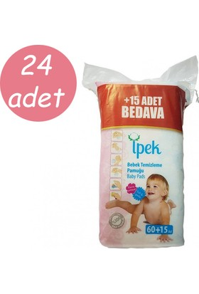 İpek Bebek Temizleme Pamuğu 75 li