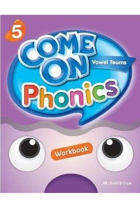 Come On, Phonics 5 Workbook - Lisa Young - Amy Gradin