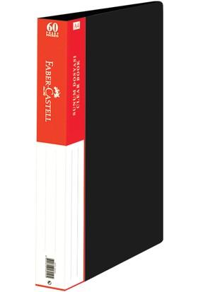 Faber-Castell Standart Sunum Dosyası 60 Yaprak Siyah