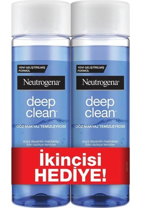 Neutrogena Göz Makyaj Temizleyici 125 ml + 125 ml 2'li Fırsat Paketi