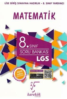 Karekök 8. Sınıf LGS Matematik Soru Bankası - Rıza Buğdayoğlu