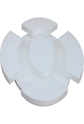 Propiyer Ledli Spotlu Tavan Göbeği - Oval 120 cm